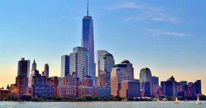 Skyline new york pour trouver un emploi aux états-unis